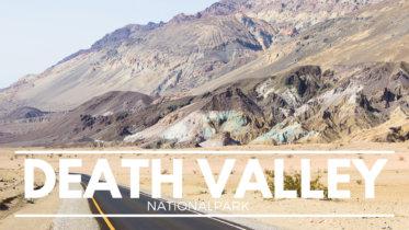 Westcoast Roadtrip  In brütender Hitze durchs Death Valley