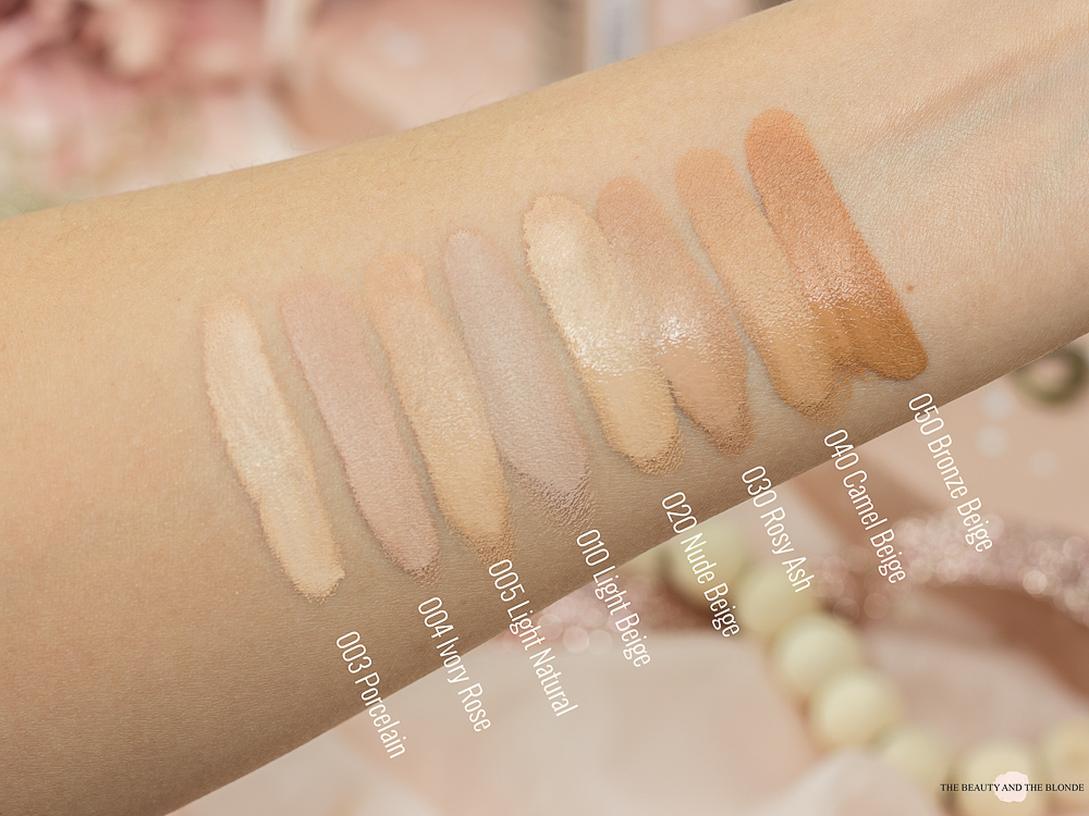 Catrice One Drop Coverage Concealer Review Swatches