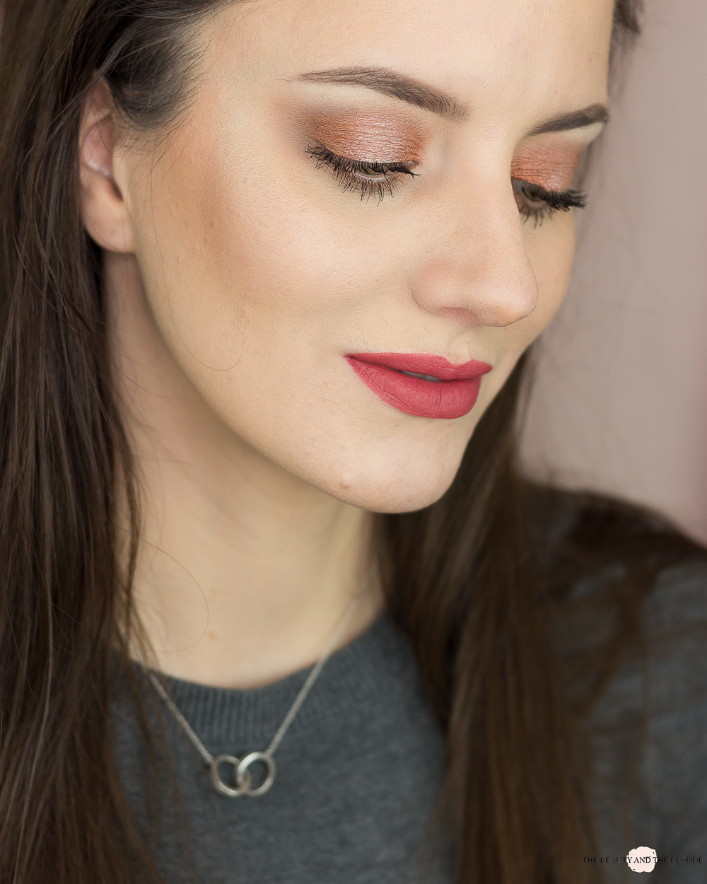 Catrice Superbia Warm Copper Eyeshadow Palette Review Swatches Look