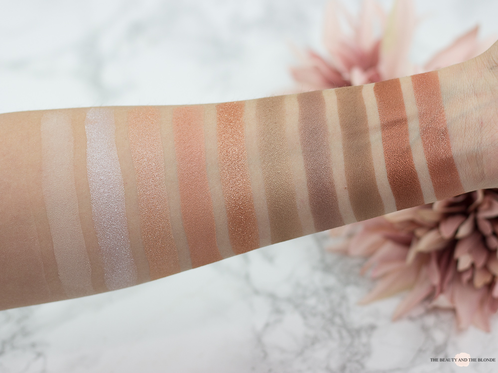 Catrice Superbia Vol. 1 Warm Copper Eyeshadow Palette Review Swatches