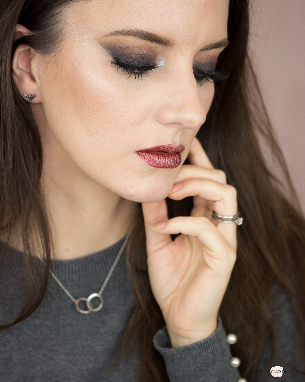 Huda Beauty Smokey Obsessions Look Classic Smokey Eye