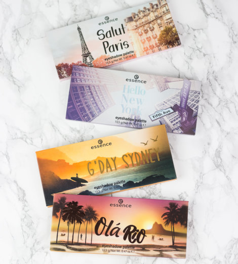 essence Update: The City Palettes </br> Hello, New York, Olá Rio, Salut Paris und G'Day Sydney