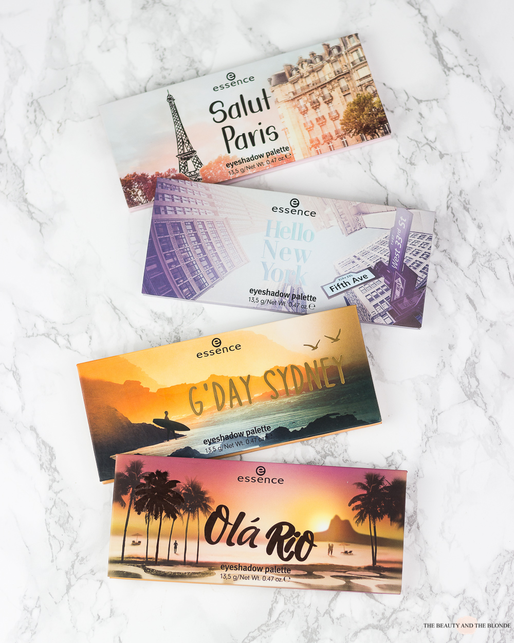 essence Update 2019 The City Palettes