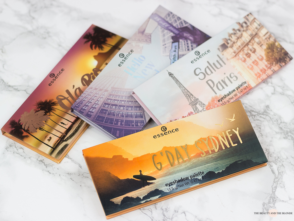 essence Update 2019 The City Palettes Review Swatches