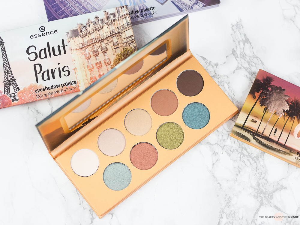 essence the city palettes g'day sydney palette review erfahrungen swatches