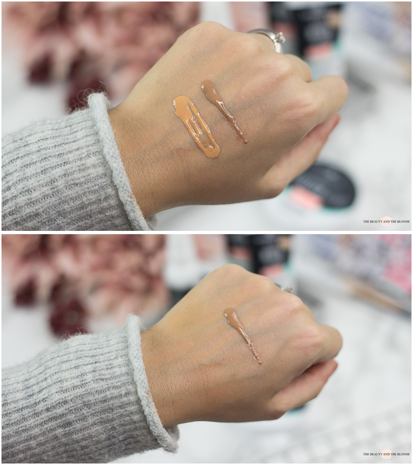 essence you better work tinted day cream swatches
