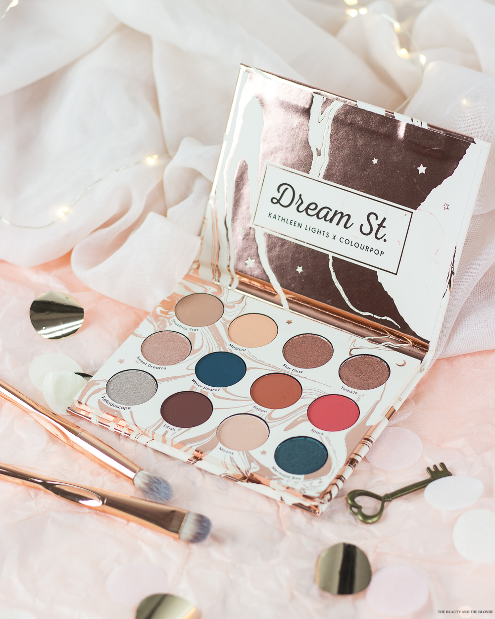 Colourpop Kathleen Lights Dream St. Palette Review Swatches