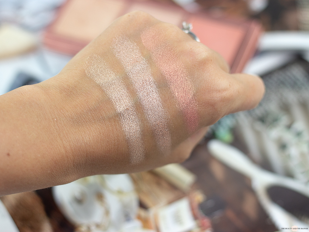 LOV The GLOWrious Highlighter Paletten Review Swatches Drogerie