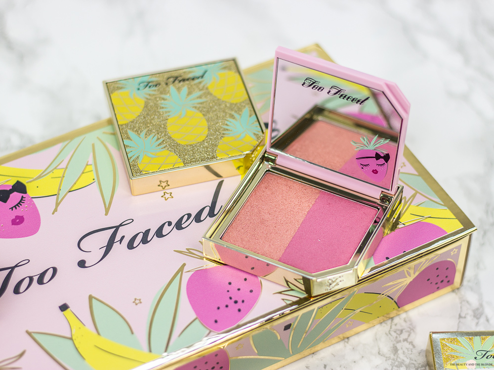 Too Faced Tutti Frutti Collection Kollektion Fru8it Cocktail StrobeBerry Blush Review