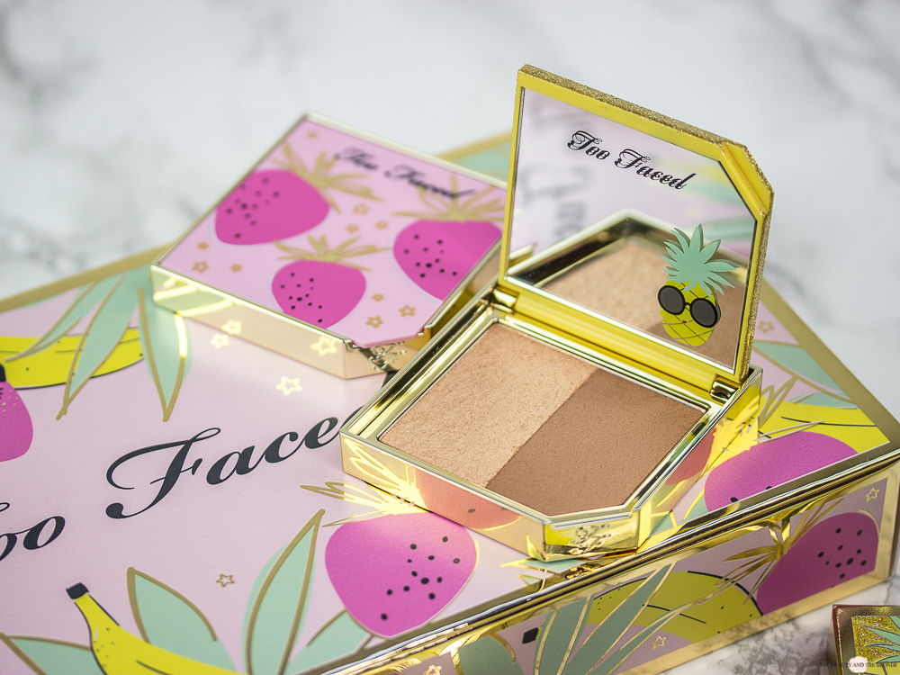 Too Faced Tutti Frutti Pineapple Paradise Bronzer Highlighter Duo Review