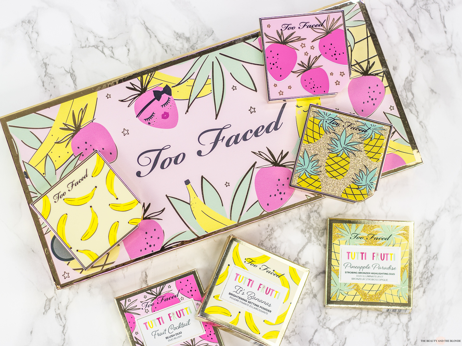 Too Faced Tutti Frutti Collection Kollektion Limited Edition Review Swatches