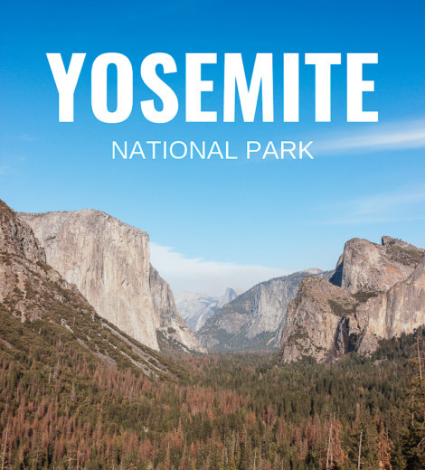 Westcoast Roadtrip </br> Yosemite National Park