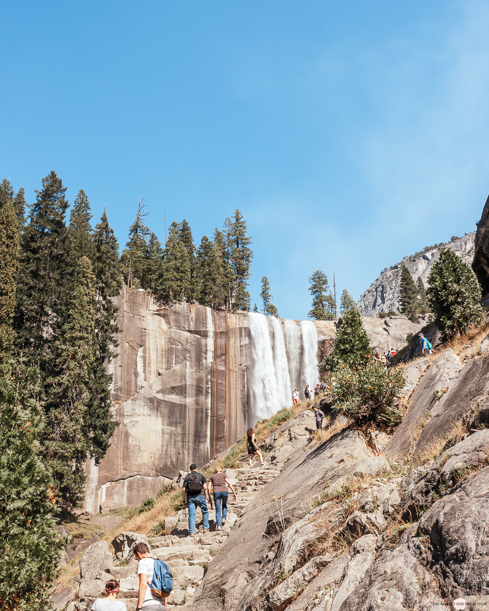 Yosemite National Park travel Diary Westoast California Roadtrip Vernal Fall