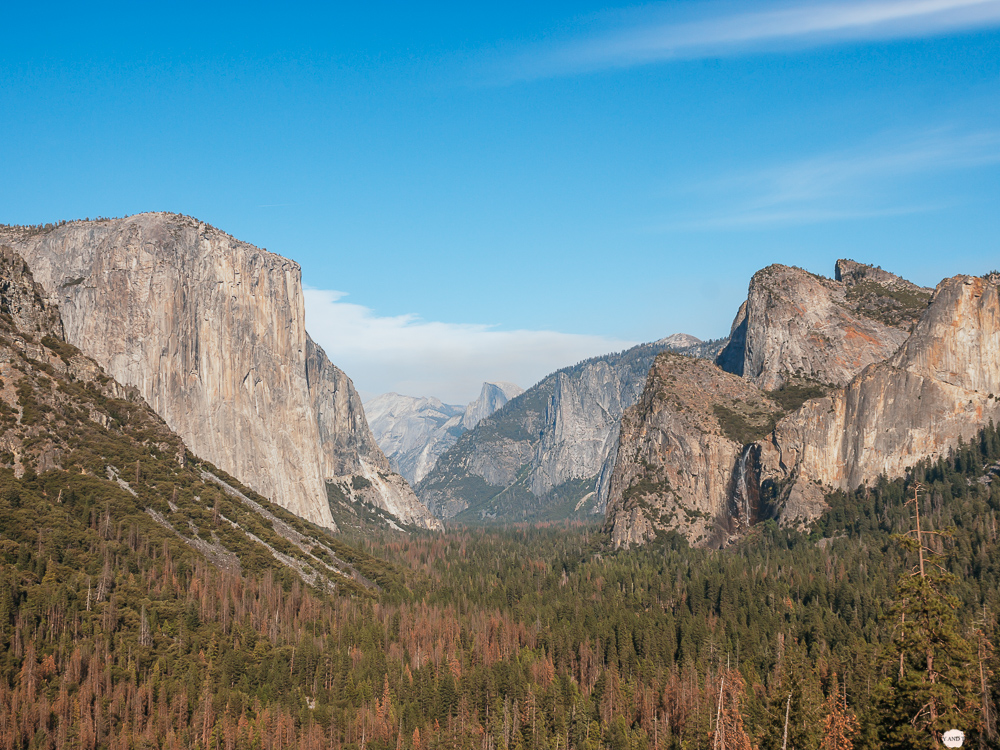 Yosemite National Park Tunnel View Westcoast Roadtrip Travel Diary