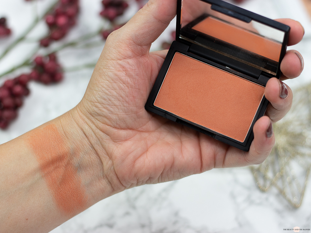 Sleek MakeUp Blush coral Review Swatches Müller Drogerie