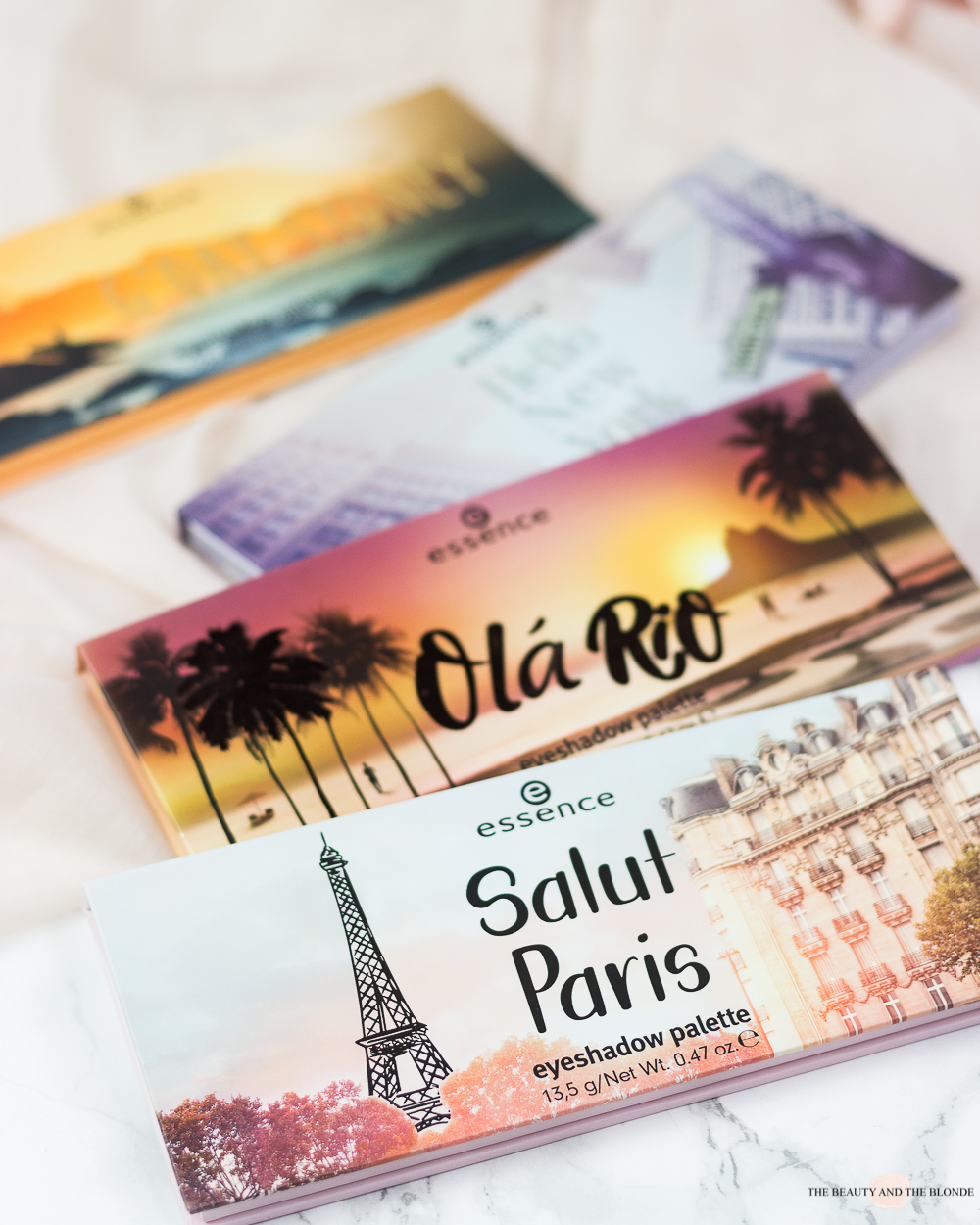 essence salut paris the city palettes lidschatten eyeshadow drogerie swatches look