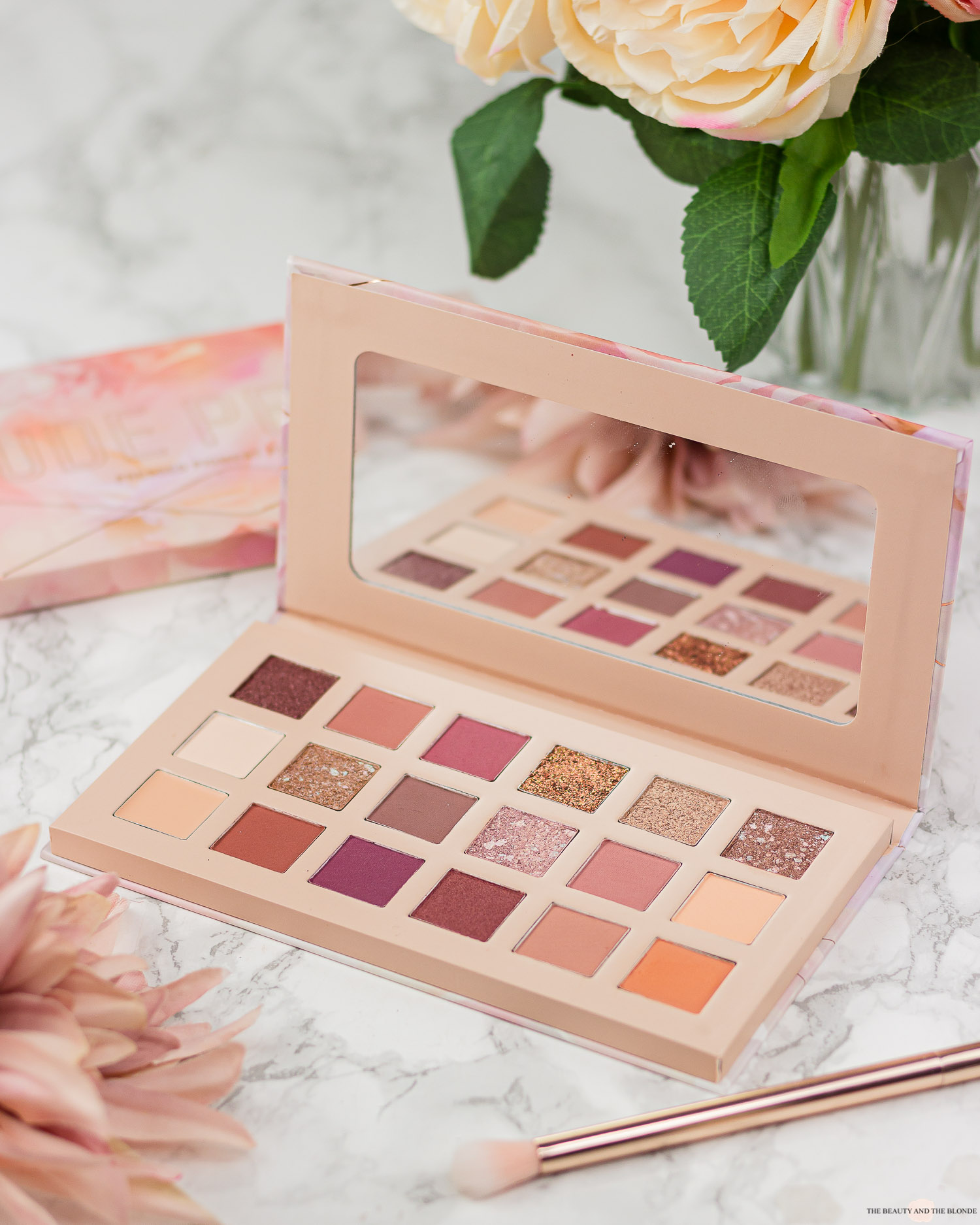 Catrice Nude Peony Pressed Pigment Palette Review Swatches