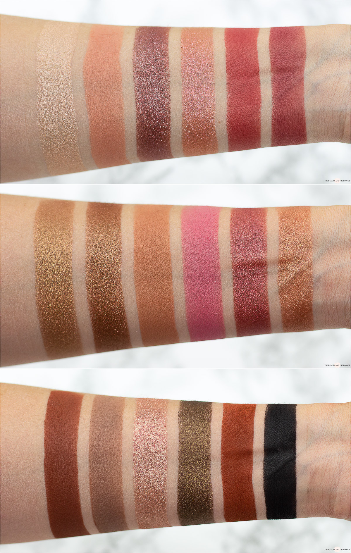 Catrice Orchid Dusk Palette Swatches