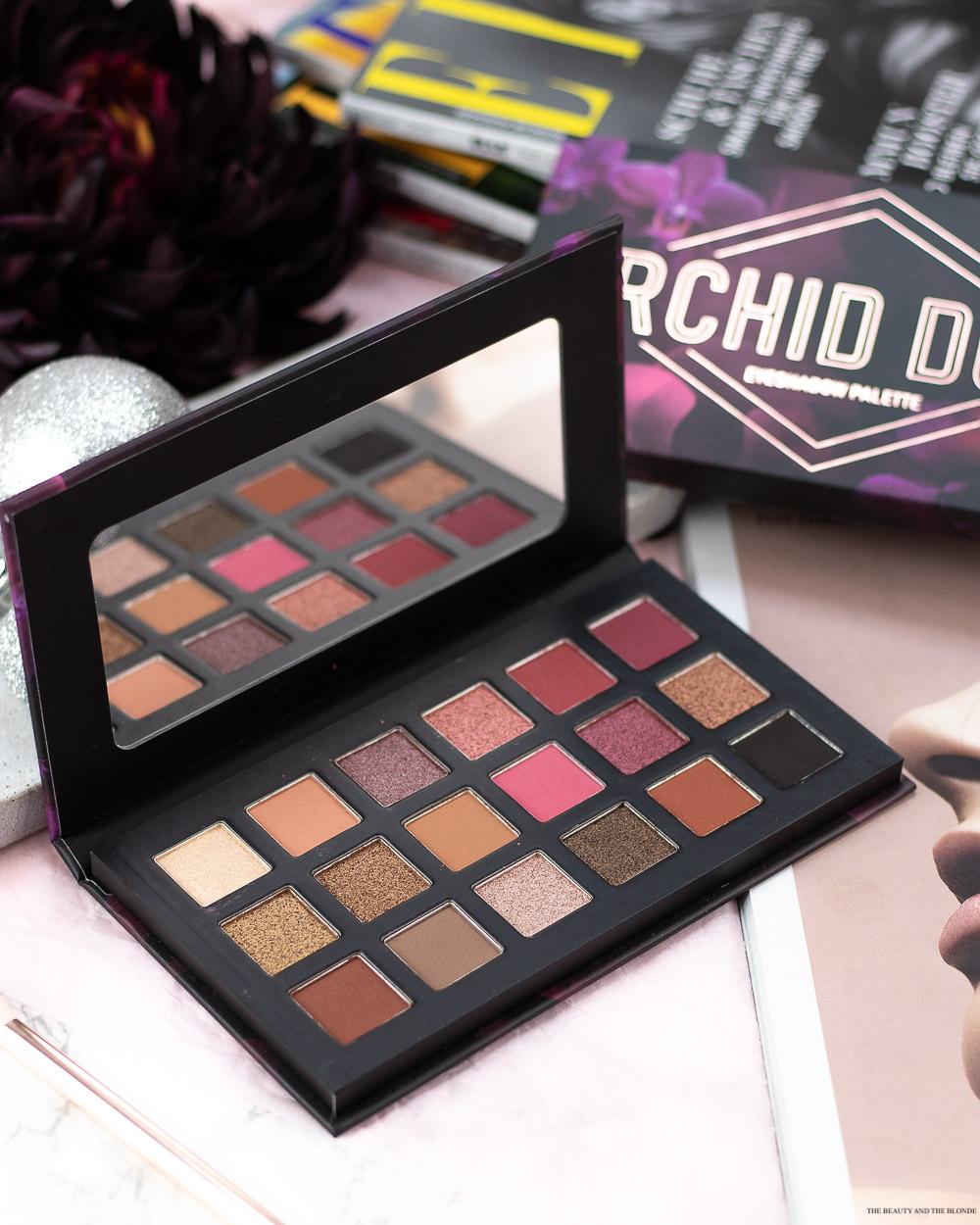 Catriche Orchid Dusk Palette Review