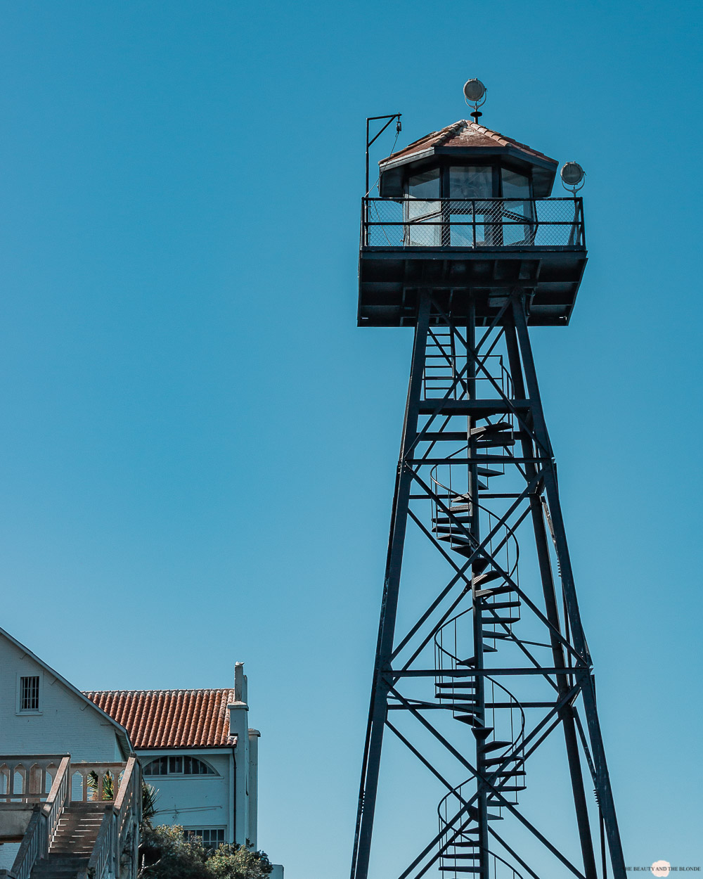 Alcatraz Wachturm