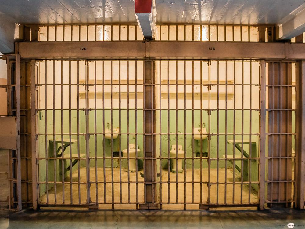 Alcatraz Gefängnis Zellen
