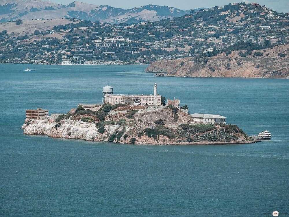 Alcatraz San Francisco Gefängnis Insel