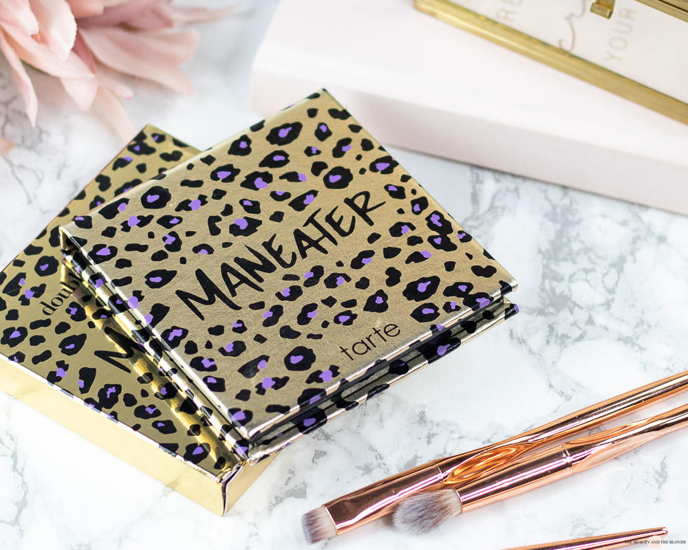 Tarte Maneater Palette Review Swatches