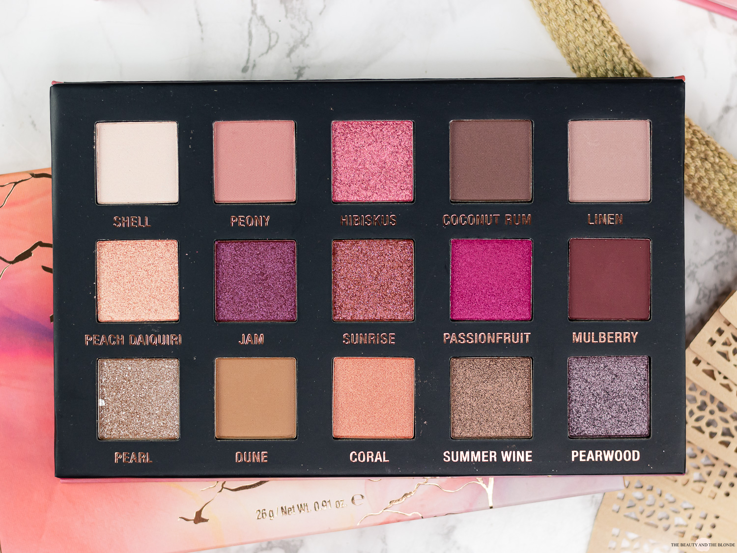 L.O.V Extended Coral Edition Lidschatten Palette Review