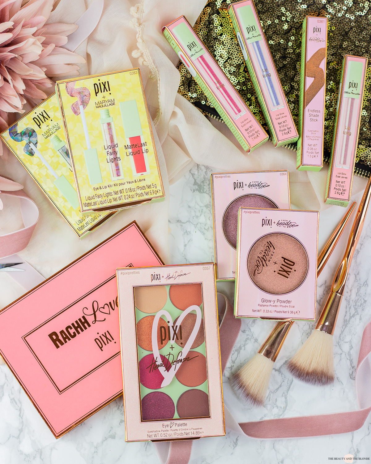 Pixi pretties collection review swatches