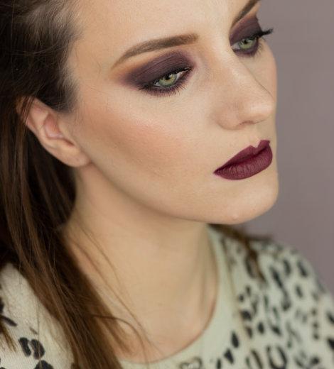 Eine Palette, vier Looks: </br> Anastasia Beverly Hills Subculture </br> Berry Smokey Eyes