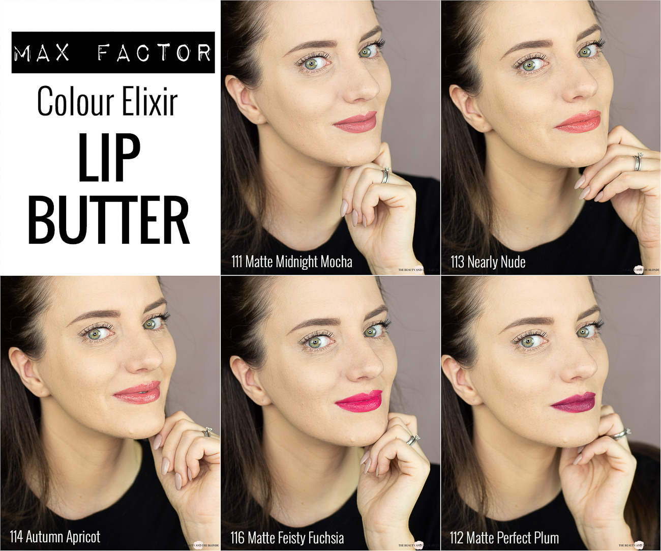 Max Factor Colour Elixir Lip Butters Lip Swatches