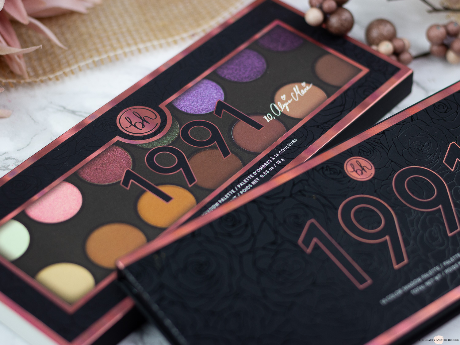 bhCosmetics Alycia Marie 1991 Palette Review Swatches