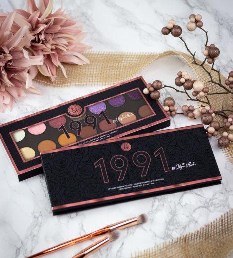 1991 Palette </br> bh Cosmetics x Alycia Marie