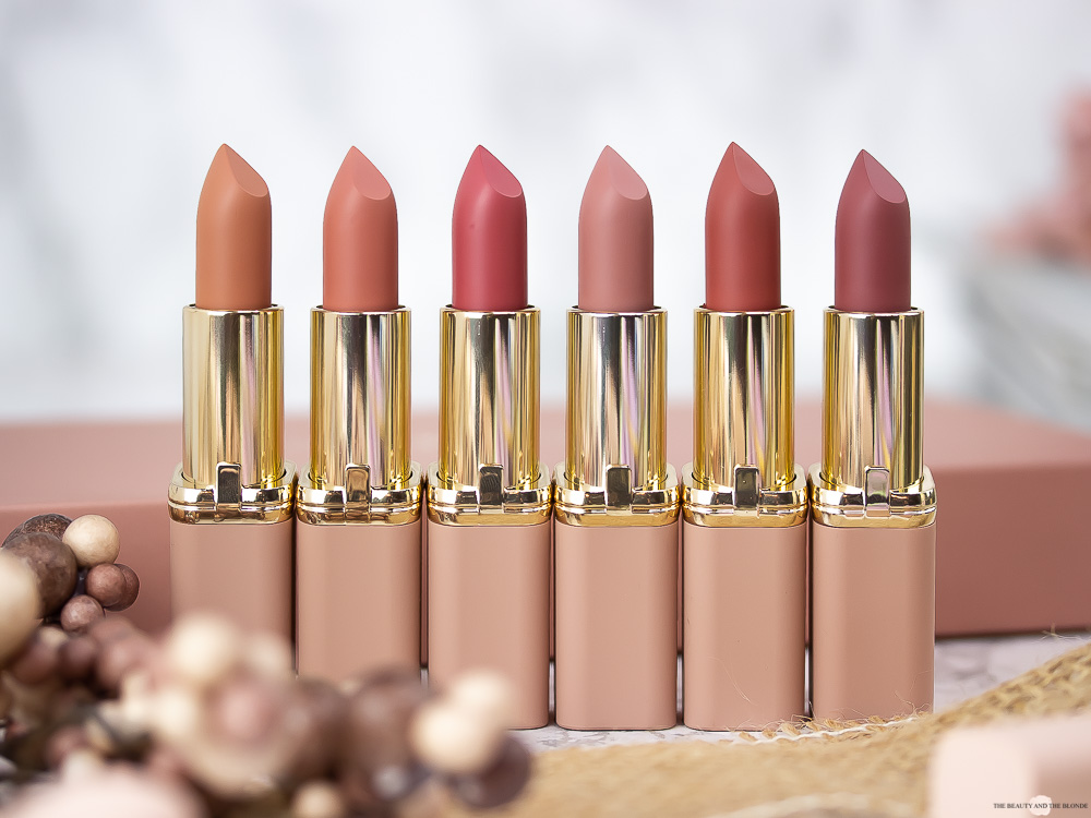 L'Oréal Color Riche Ultra Matte Free The Nudes Lippenstifte Review