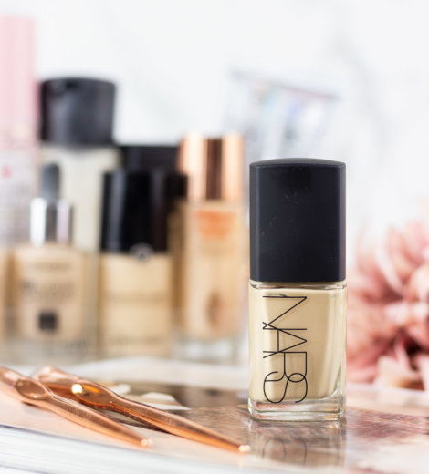 Foundation Friday: </br> NARS Sheer Glow Foundation