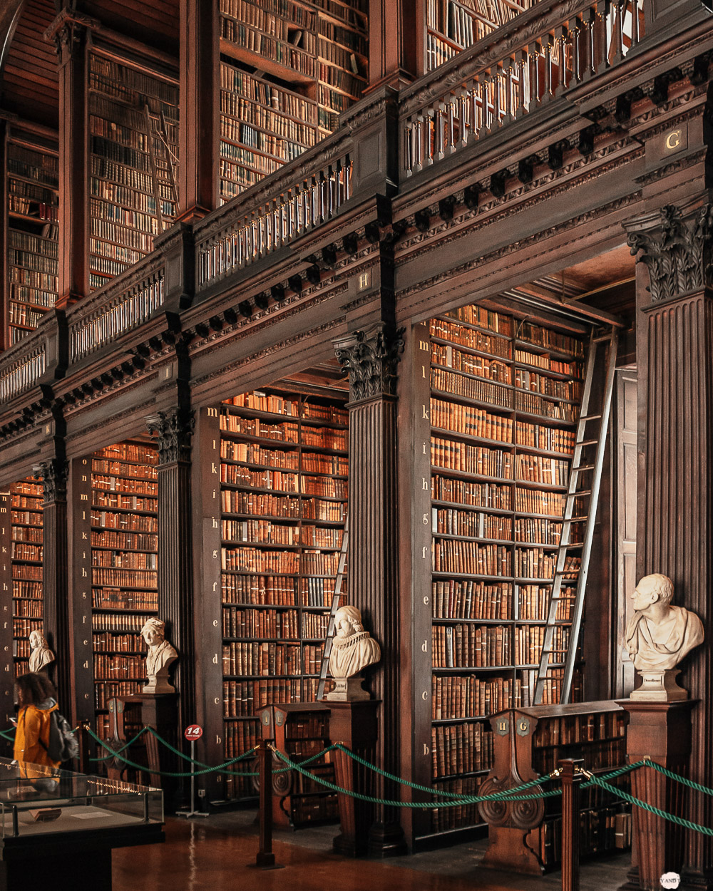 Dublin Trinity College Old Library Long Room