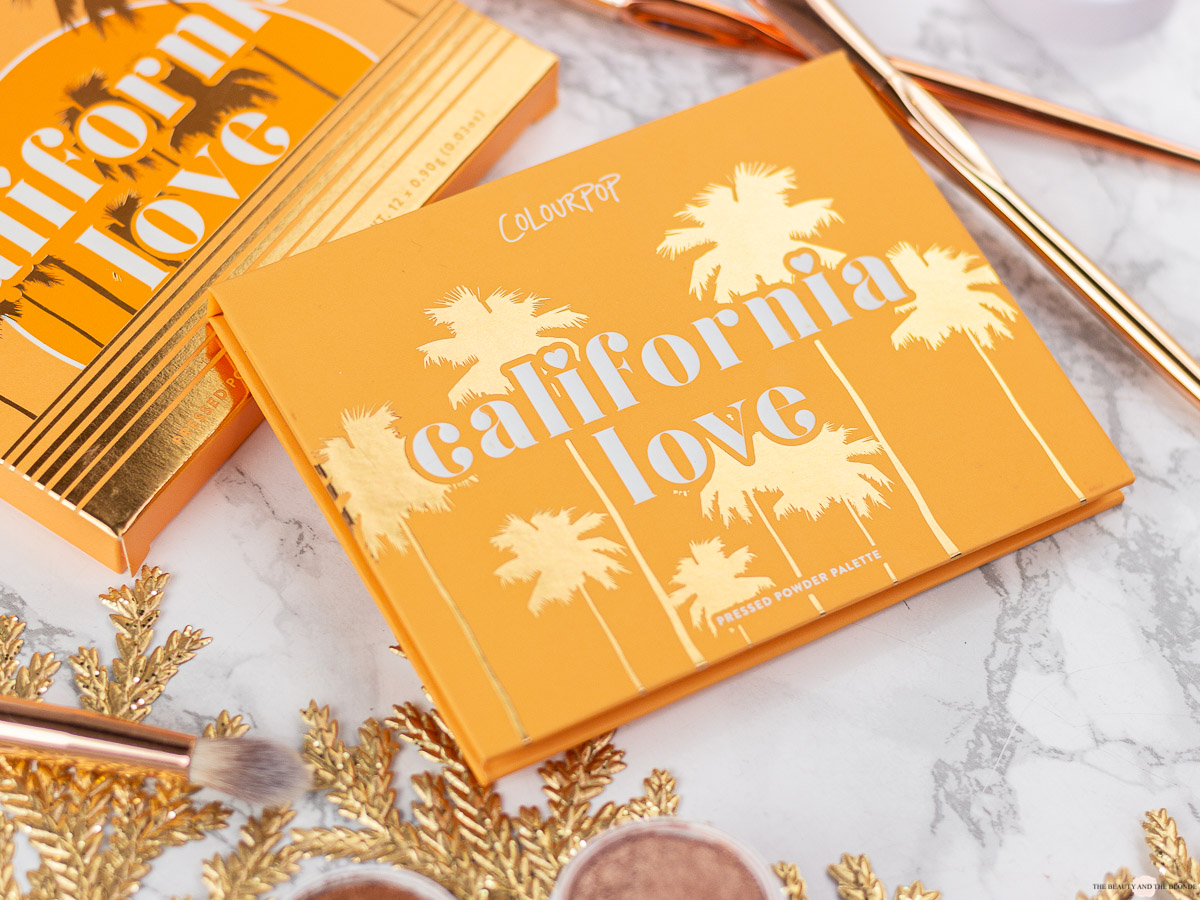 ColourPop California Love Palette Review