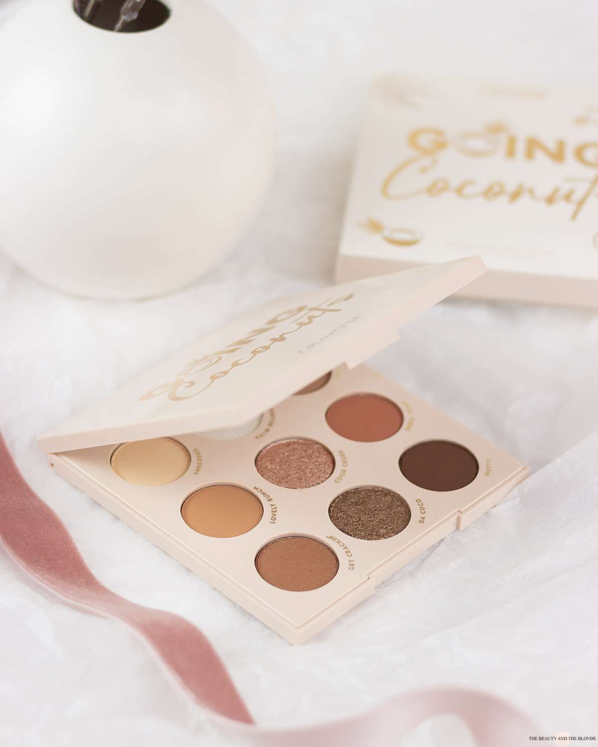 ColourPop Going Coconuts Palette Review