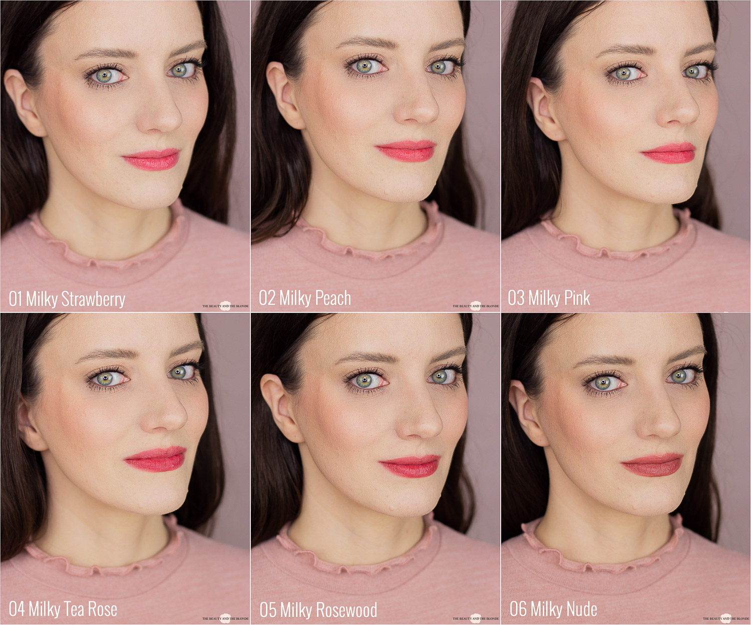 Clarins Milk Shake Collection Lip Milky Mousse