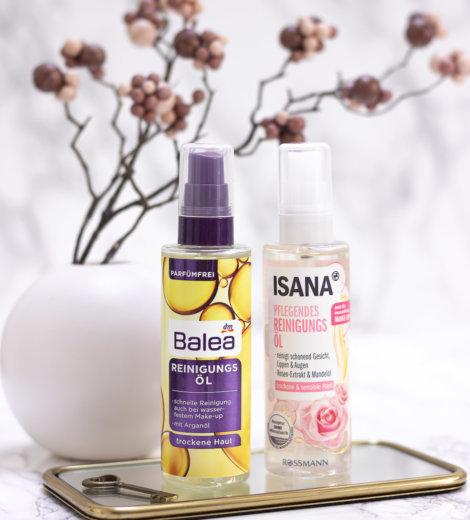 Isana oder Balea – </br> Wer hat das bessere Reinigungsöl?