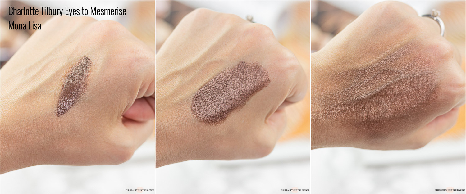 Charlotte Tilbury Eyes to Mesmerise Mona Lisa Swatch