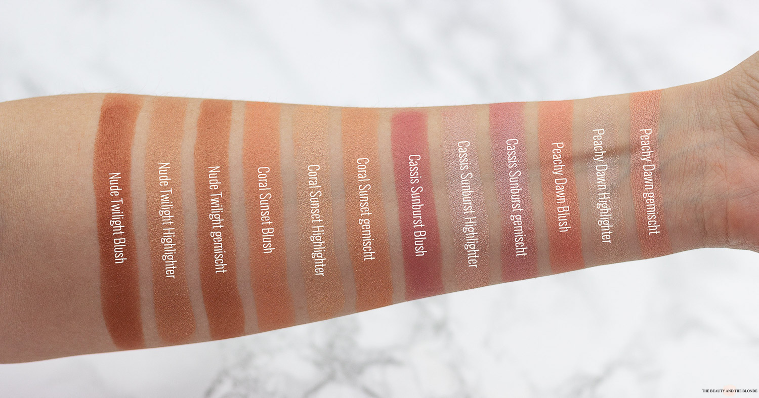 essence BlushLighter Swatches