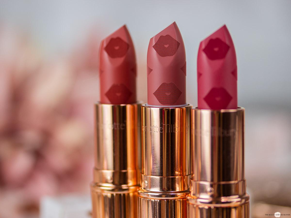 Charlotte Tilbury Love Filter Collection Matte Revolution Lipsticks