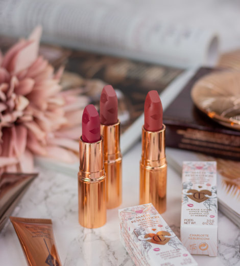 Charlotte Tilbury </br> Love Filter Matte Revolution Lipsticks