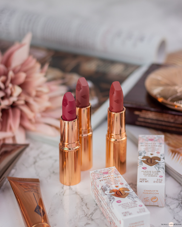 Charlotte Tilbury Wedding Collection Matte Revolution Lipsticks