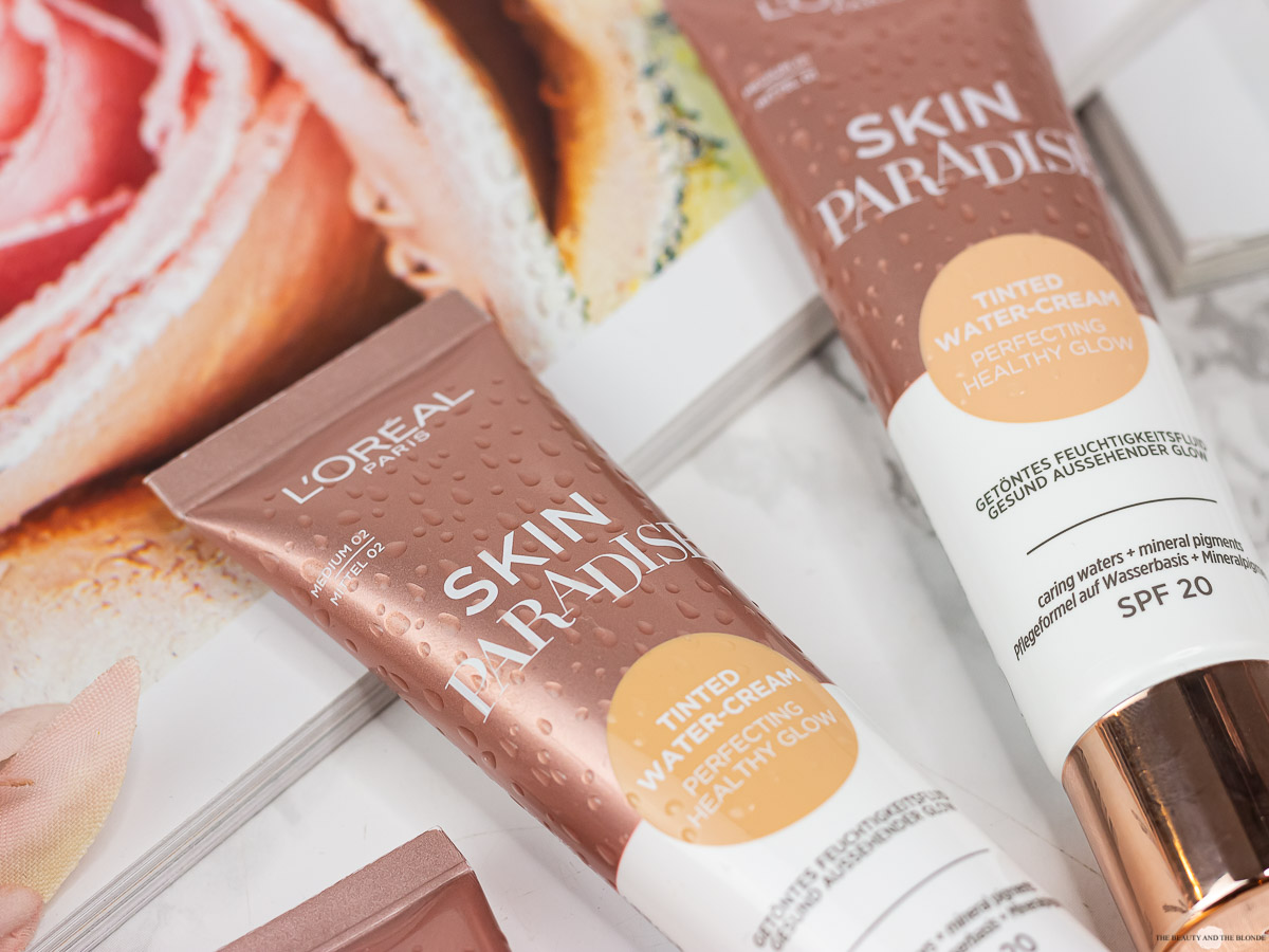 L'Oréal Skin Paradise Tinted Water Cream Review