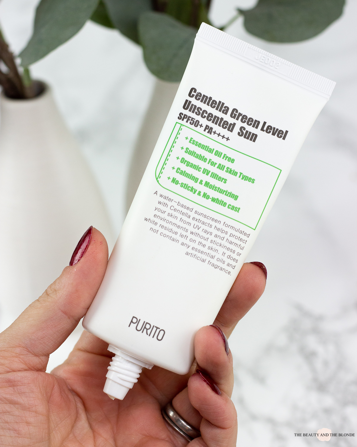 Purito Centella Green Level Unscented Sun Review