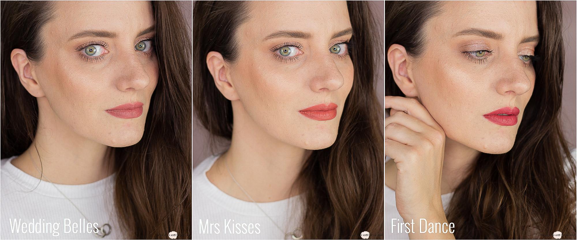 Charlotte Tilbury Love Filter Collection Matte Revolution Lipsticks Swatches