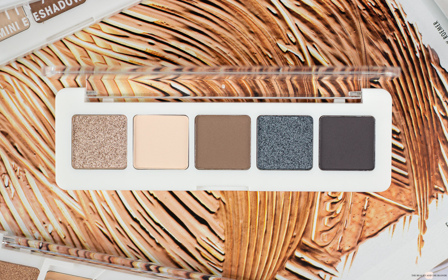 Catrice 5 in a box palette modern smokey look review