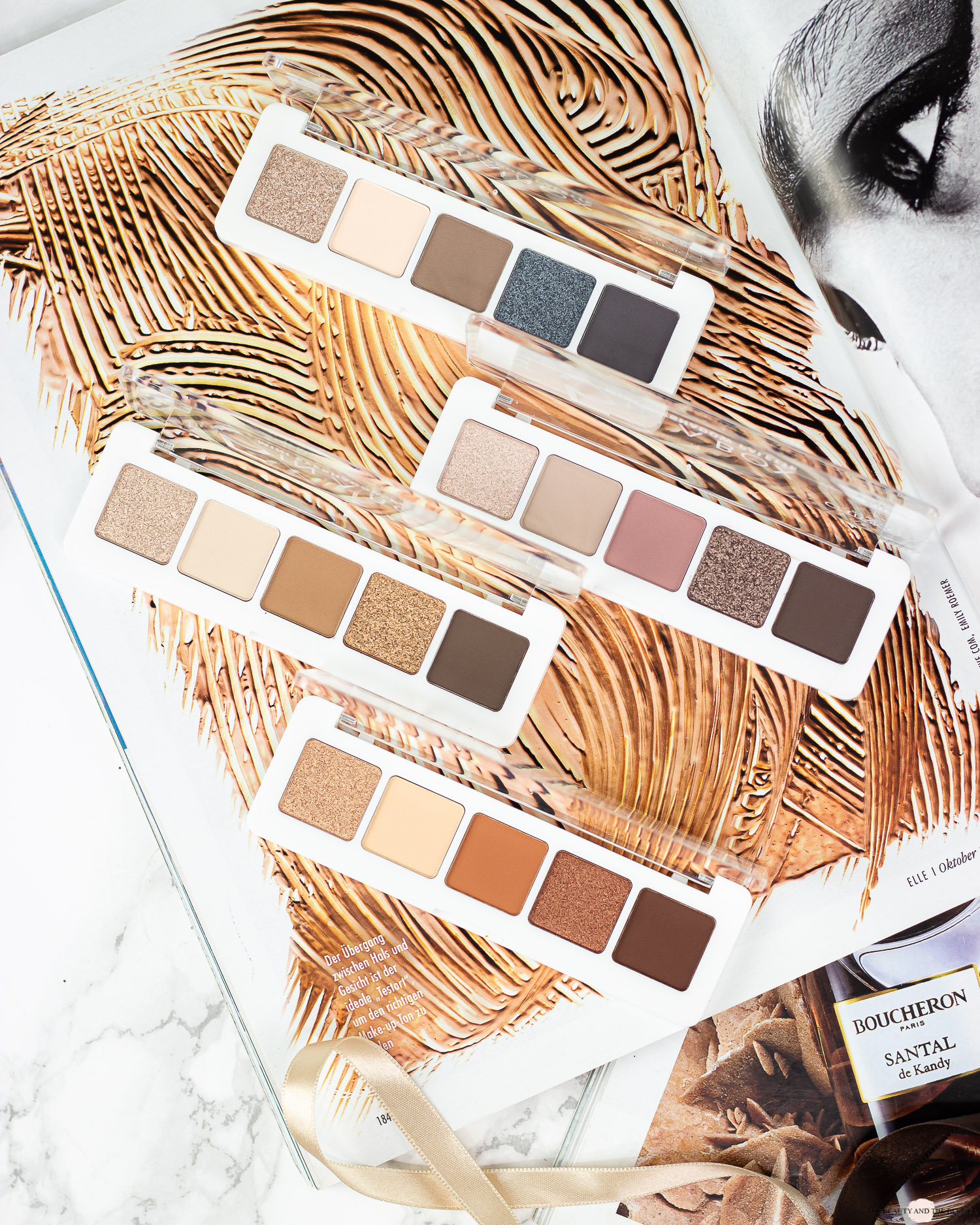 Catrice 5 in a box palette review
